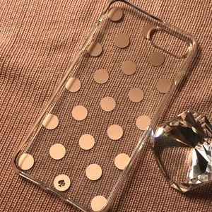 Kate Spade iPhone 8 Plus Case - Rose Gold